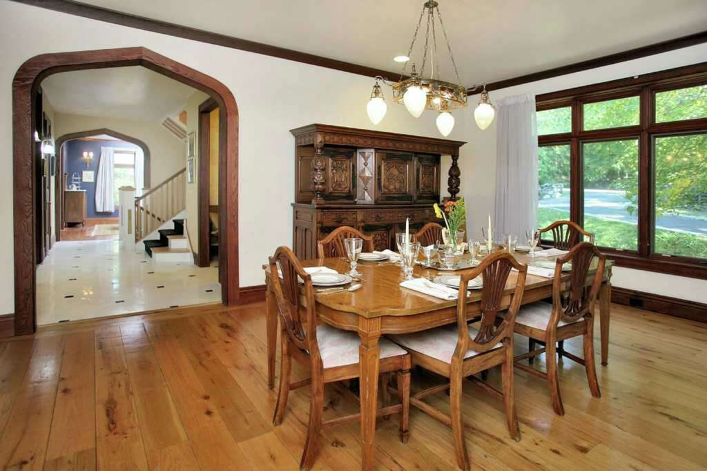Tudor Revival Interiors tudor revival-style house boasts modern conveniences - westport news