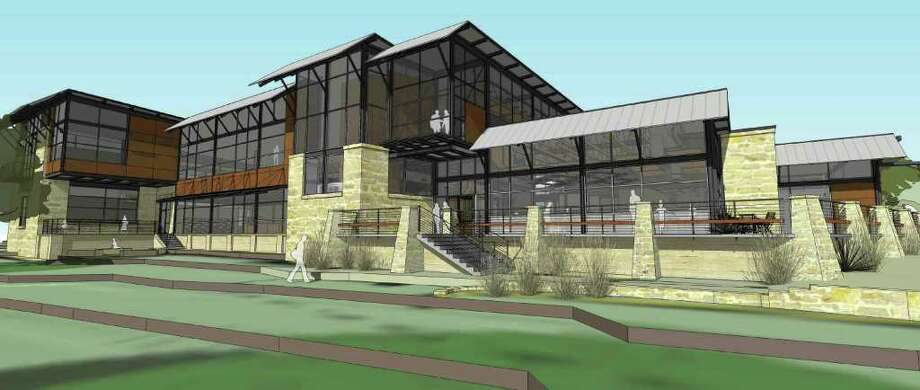 The Patrick Heath Public Library will open Saturday and is Boerne's second-ever public house of books. Photo: Courtesy Illustration