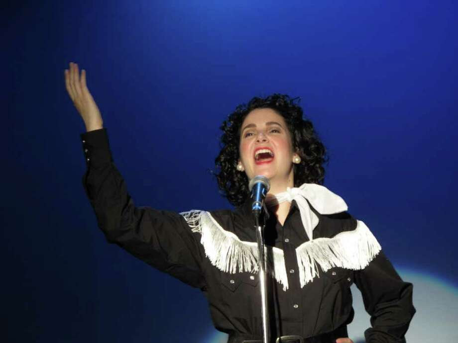 "Yesenia McNett plays the title role in the ""Always...Patsy Cline."" Courtesy of the Circle Arts Theatre"