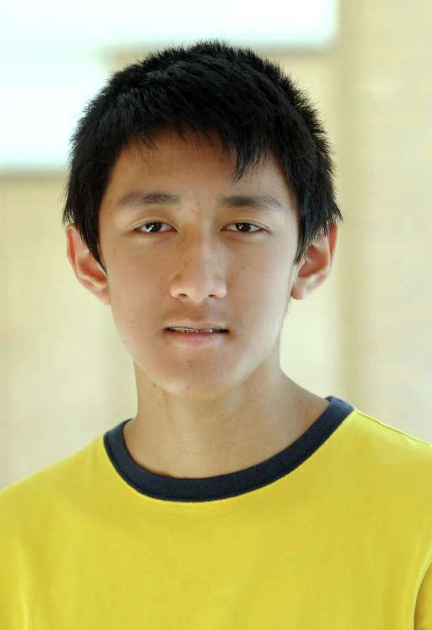 Kevin Bun, an eigth-grader at Broadview Middle School, is a finalist for Ct. Young Writers Competition. Photo: Carol Kaliff / The News-Times