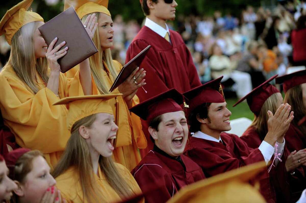 Highlights from St. Joseph High School's Commencement Exercises in Trumbull, Conn. on Friday June 3, 2011.