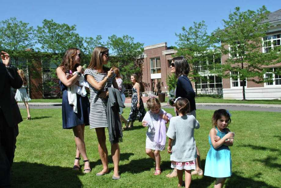 Convent of the Sacred Heart held their graduation on June 3, 2011 in Greenwich. Photo: Lauren Stevens/Hearst Connecticut Media Group