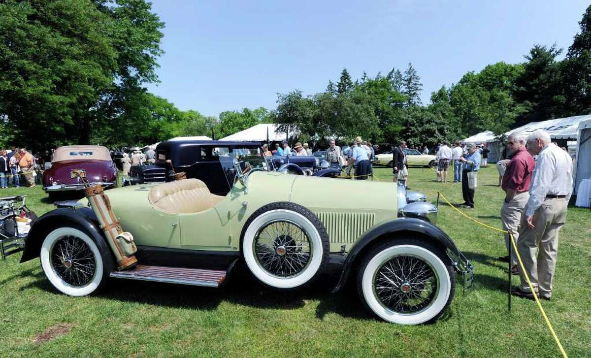 1926 Kissel Gold Bug on display during the Greenwich Concours d'Elegance at Roger Sherman Baldwin Park, Saturday morning, June 4, 2011.