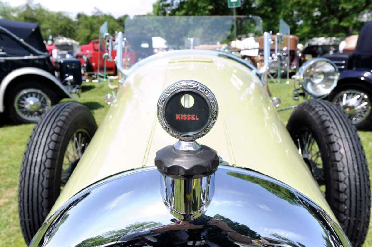 The 1926 Kissel Gold Bug on display during the Greenwich Concours d'Elegance at Roger Sherman Baldwin Park, Saturday morning, June 4, 2011.
