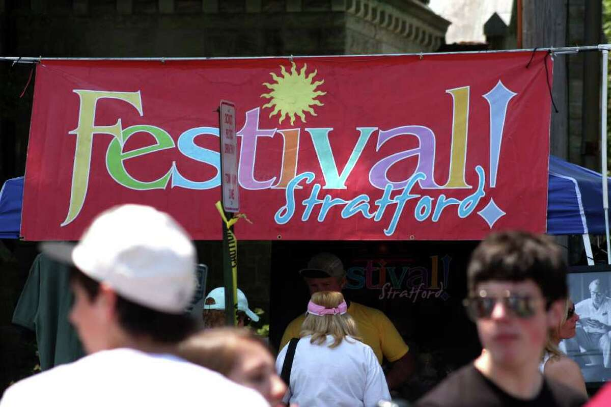 Saturday : Stratford Main Street Festival. Don't miss this year's festival taking place on Main Street from 10am to 5pm. There will be a carnival for the kids, lots of food, arts and crafts booths, plus lots of live entertainment.