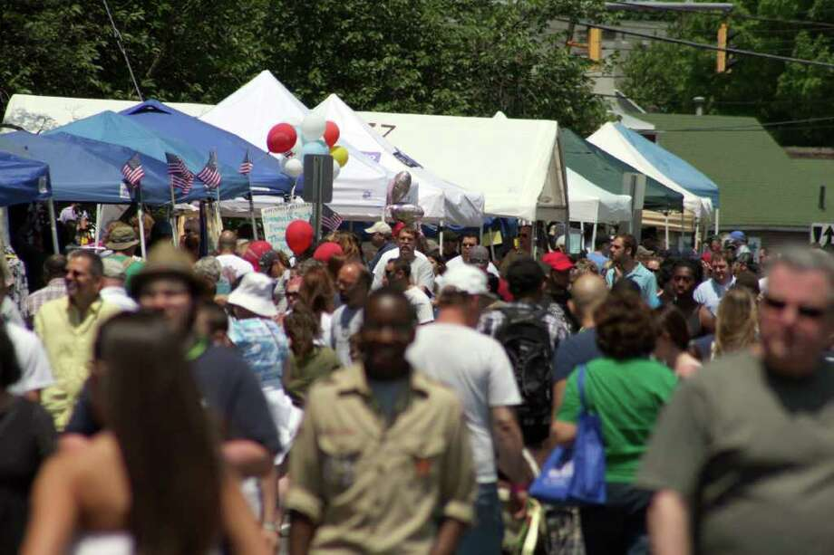 Were you seen at the Stratford Main Street Festival Saturday June 4? Photo: Jeff Bustraan / Connecticut Post
