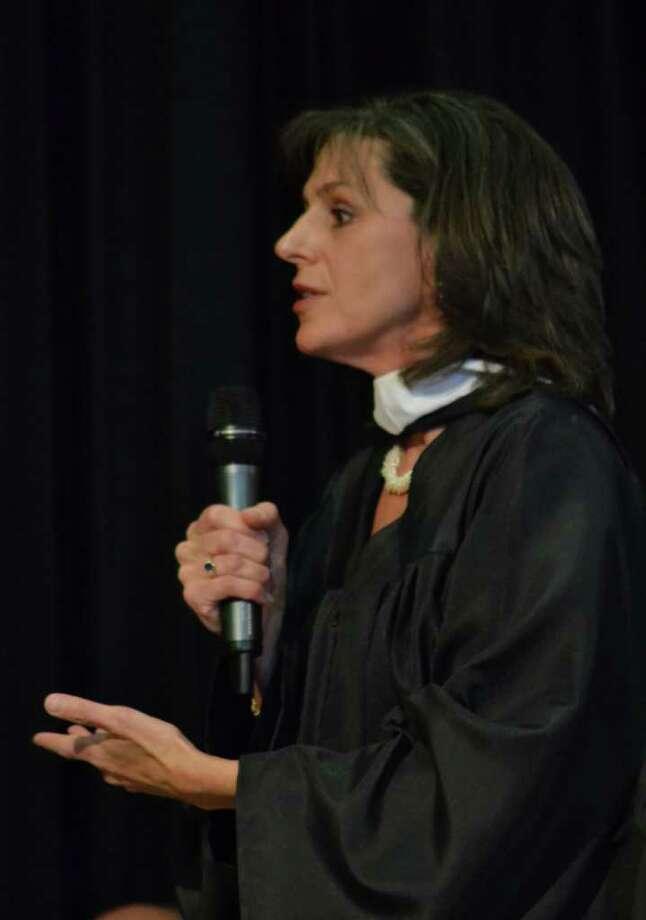 Christian Heritage Graduation in Trumbull, CT, 6/4/2011 Photo: Sean Meenaghan / Hearst Connecticut Media Group