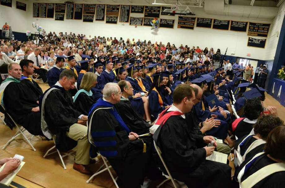 The 2011 Notre Dame Catholic High School Commencement at Notre Dame in Fairfield on Saturday, June 4, 2011. Photo: Amy Mortensen / Connecticut Post Freelance