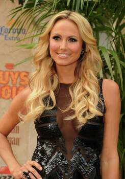 """CULVER CITY, CA - JUNE 04:  Actress Stacy Keibler arrives at Spike TV's 5th annual 2011 """"Guys Choice"""" Awards at Sony Pictures Studios on June 4, 2011 in Culver City, California. Photo: Jason Merritt, Getty Images / 2011 Getty Images"""