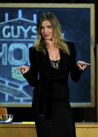 "CULVER CITY, CA - JUNE 04:  Actress Cameron Diaz speaks onstage during Spike TV's 5th annual 2011 ""Guys Choice"" Awards at Sony Pictures Studios on June 4, 2011 in Culver City, California. Photo: Kevin Winter, Getty Images / 2011 Getty Images"