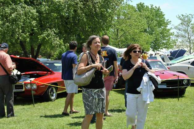 The Concours d' Elegance took place in Greenwich on June 4, 2011 at Roger Sherman Baldwin Park. Photo: Lauren Stevens/Hearst Connecticut Media Group