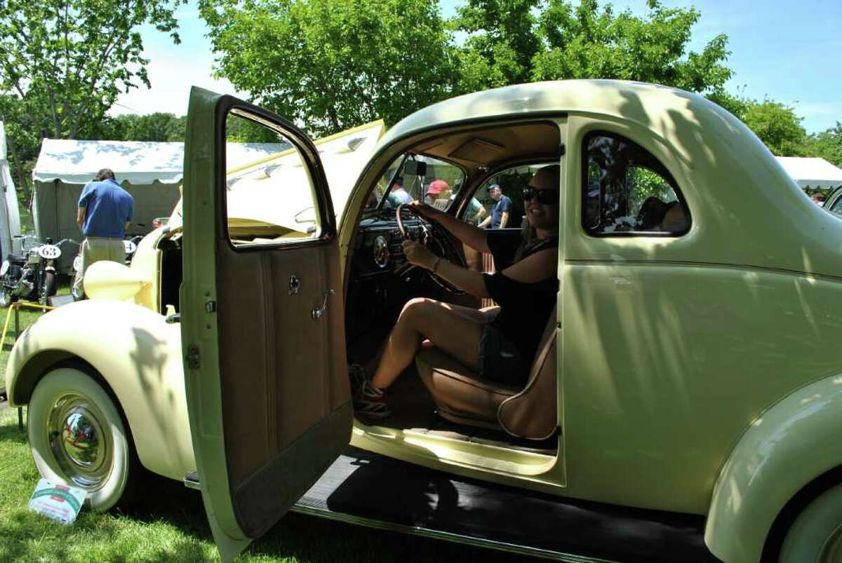 The Concours d' Elegance took place in Greenwich on June 4, 2011 at Roger Sherman Baldwin Park.