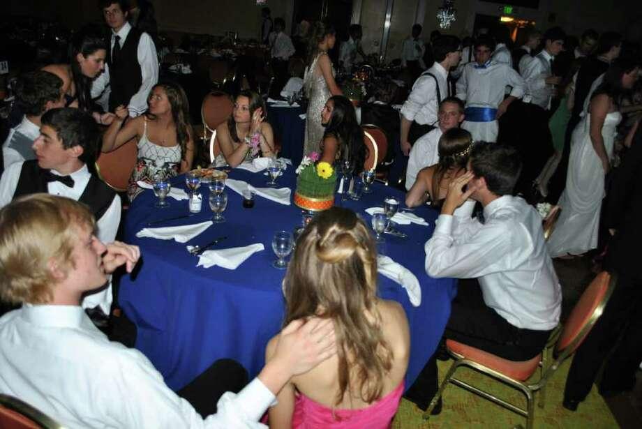 Staples High School help their Senior Prom at the Stamford Mariott on June 4, 2011. Photo: Lauren Stevens/Hearst Connecticut Media Group