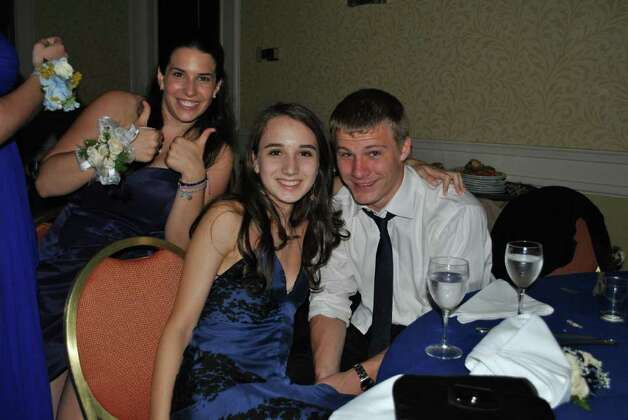 Staples High School help their Senior Prom at the Stamford Mariott on June 4, 2011. Photo: Lauren Stevens/Hearst Connecticut Media Group