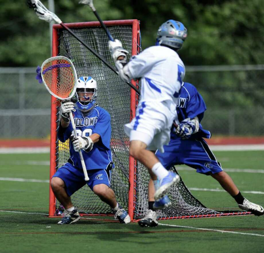 Darien High School against Ludlowe High School in the boys lacrosse CIAC quarterfinal game in Darien, Conn. on Saturday June 4, 2011. Photo: Kathleen O'Rourke / Stamford Advocate