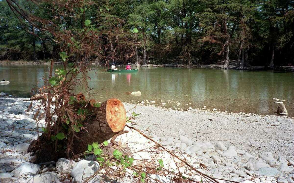 Frio River, Garner State Park About 2 hours west of San Antonio