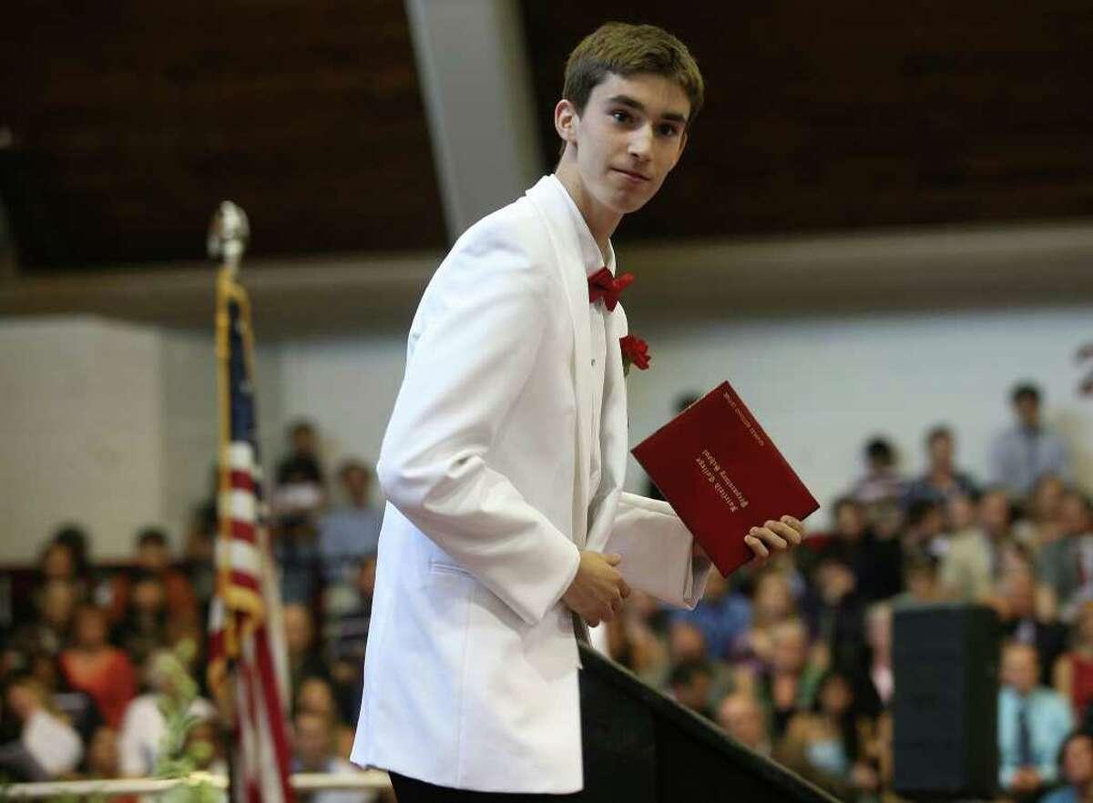 Fairfield Prep Commencement at Fairfield University's Alumni Hall on Sunday, June 5, 2011.