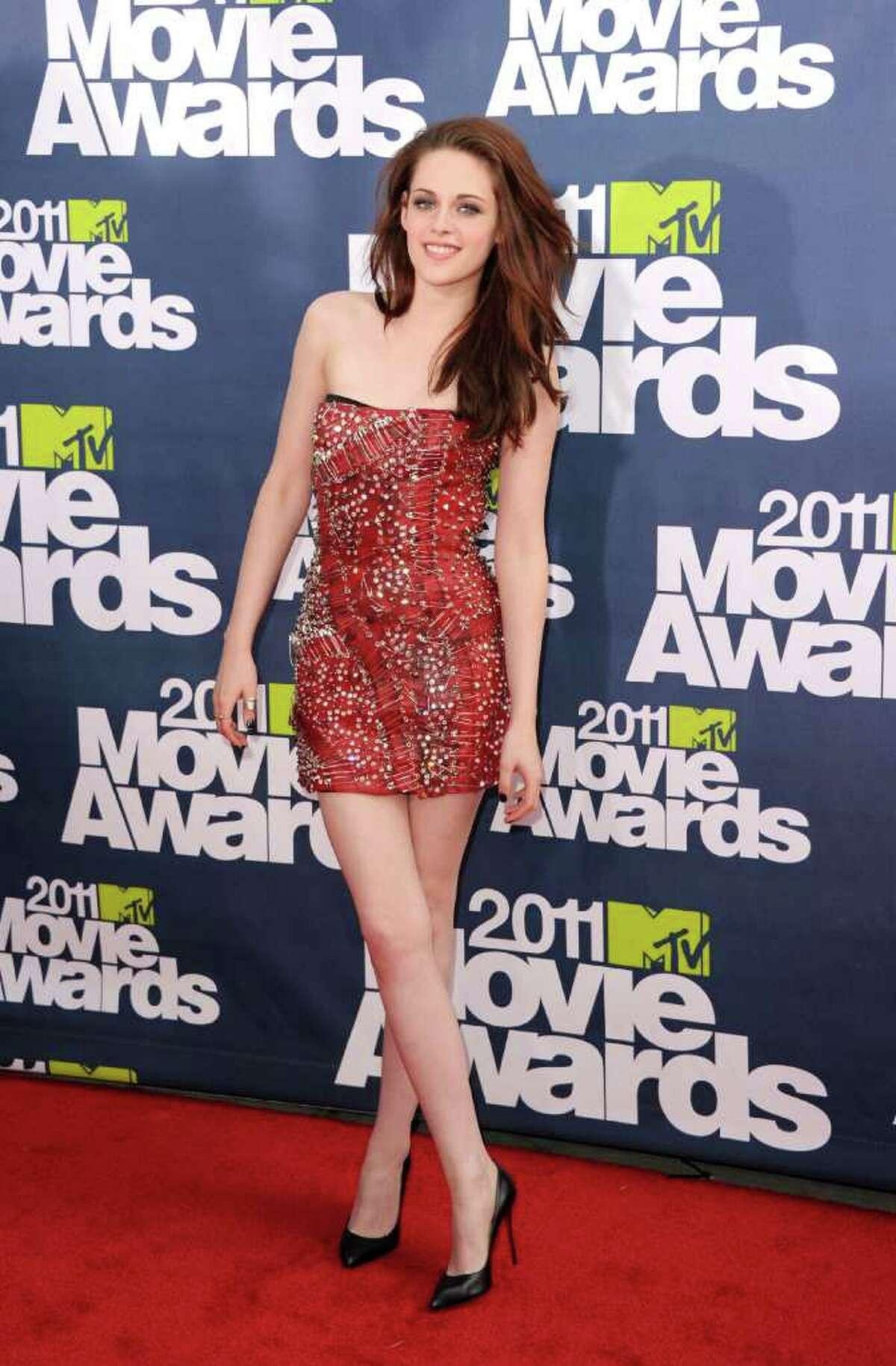 Actress Kristen Stewart arrives.