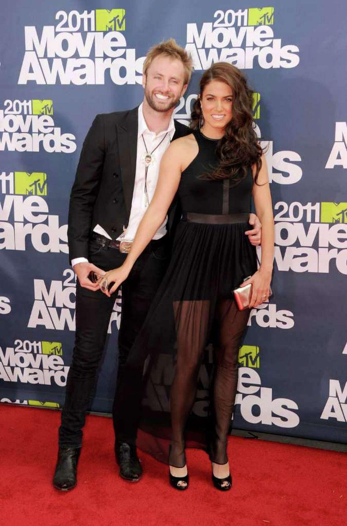 Worst Dressed: Musician Paul McDonald (L) and actress Nikki Reed