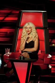 Christina Aguilera on The Voice: Lewis Jacobs/NBC Photo: NBC / © NBCUniversal, Inc.