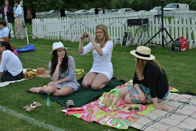 There was a polo match at Conyers Farm in Greenwich on June 5, 2011. Photo: Lauren Stevens/Hearst Connecticut Media Group