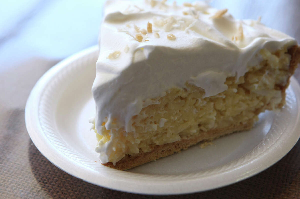 The Station Cafe 108 King William, San Antonio; thestationsa.comPHOTO: The Coconut Cream Pie from The Station Cafe is seen on Jan. 26, 2010.