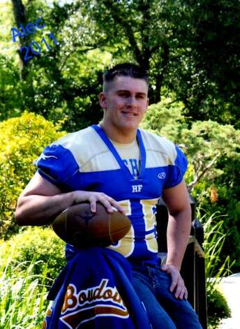 Hamshire-Fannett defensive lineman Alec Boudoin will play for Jamestown College. Photo: Provided