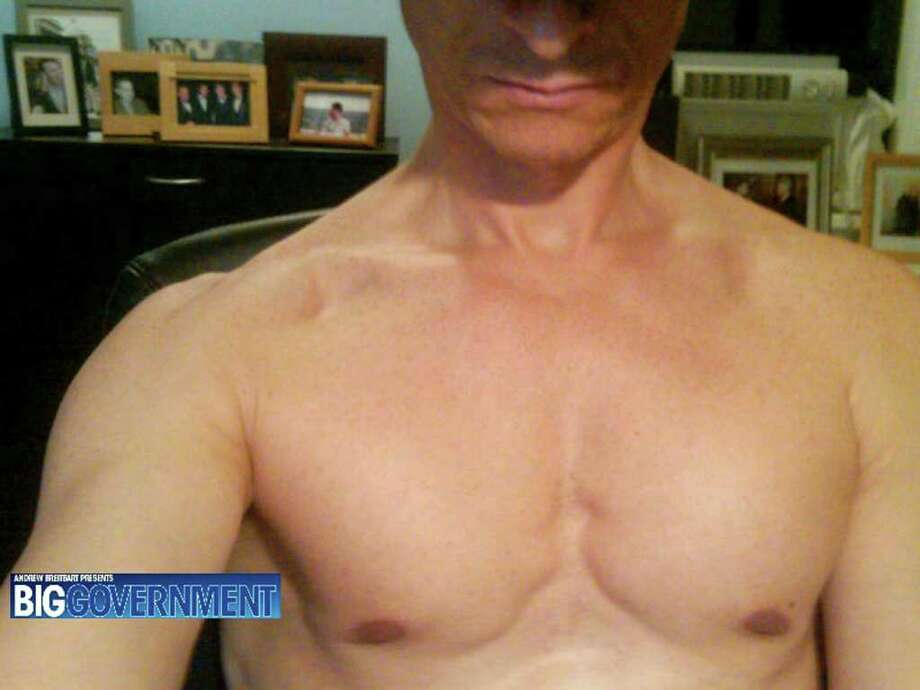 "This undated photo taken from the website BigGovernment.com, run by conservative activist Andrew Breitbart, purports to show Rep. Anthony Weiner, D-N.Y., shirtless. After days of denials, Weiner confessed Monday June 6, 2011 that he tweeted a photo of his bulging underpants to a young woman, and he also admitted to ""inappropriate"" exchanges with six women before and after he got married. The scandal escalated when the website, BigGovernment.com,, posted photos, including the one shown, purportedly from a second woman who said she received shirtless shots of the congressman. The site said the pictures were in a cache of intimate online photographs, chats and email exchanges the woman claimed to have. The website did not identify the woman. (AP Photo/BigGovernment.com)"