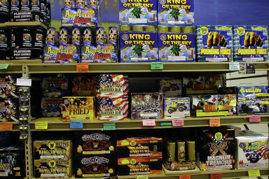 Couty-wide burn bans in Southeast Texas may have a drastic effect on the sale and setting off of fireworks this Fourth of July season. Enterprise file photo Photo: File