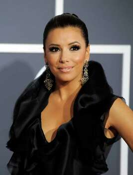 FILE - In this Feb. 13, 2011 file photo, actress Eva Longoria arrives at the 53rd annual Grammy Awards in Los Angeles. Photo: AP