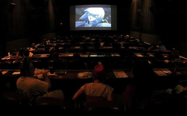 Anime fans attend a showing of Japanese anime at Alamo Drafthouse Westlakes on Monday, Sept. 6, 2010. The movie venue has been offering anime to fans of the genre for more than five years.  Kin Man Hui/kmhui@express-news.net Photo: KIN MAN HUI, SAN ANTONIO EXPRESS-NEWS / San Antonio Express-News