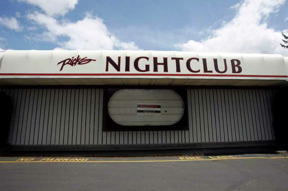 The former site Rick's, the former Colacurcio-owned strp club, is being auctioned at 2 p.m. June 29 and may reopen as a strip club. This photo was taken June 3, 2011. Photo: Casey McNerthney/seattlepi.com