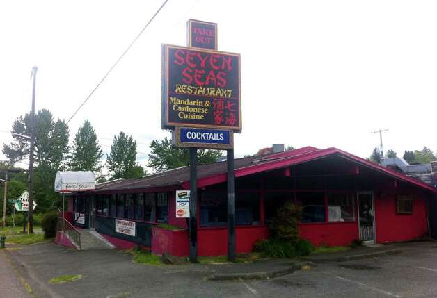 The old Seven Seas Chinese restaurant at 8914 Lake City Way N.E. Photo: Casey McNerthney/seattlepi.com