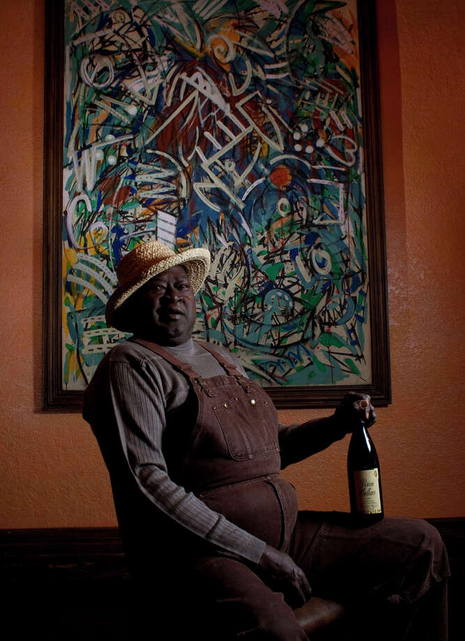 Mac McDonald, winemaker and owner of Vision Cellars of Windsor, Calif., grew up in the Piney Woods of East Texas. JOHNNY HANSON / HOUSTON CHRONICLE