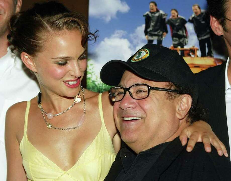Portman and Danny DeVito arrive at the premiere of 'Garden State' on July 20, 2004 at the Directors Guild, in Los Angeles. Photo: Kevin Winter, Getty Images / 2004 Getty Images