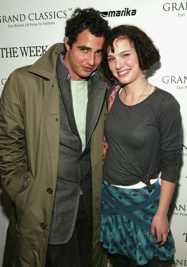 Portman and designer Zac Posen attend the Grand Classics screening of 'Camille' on April 13, 2004 in New York. Photo: Evan Agostini, Getty Images / 2004 Getty Images