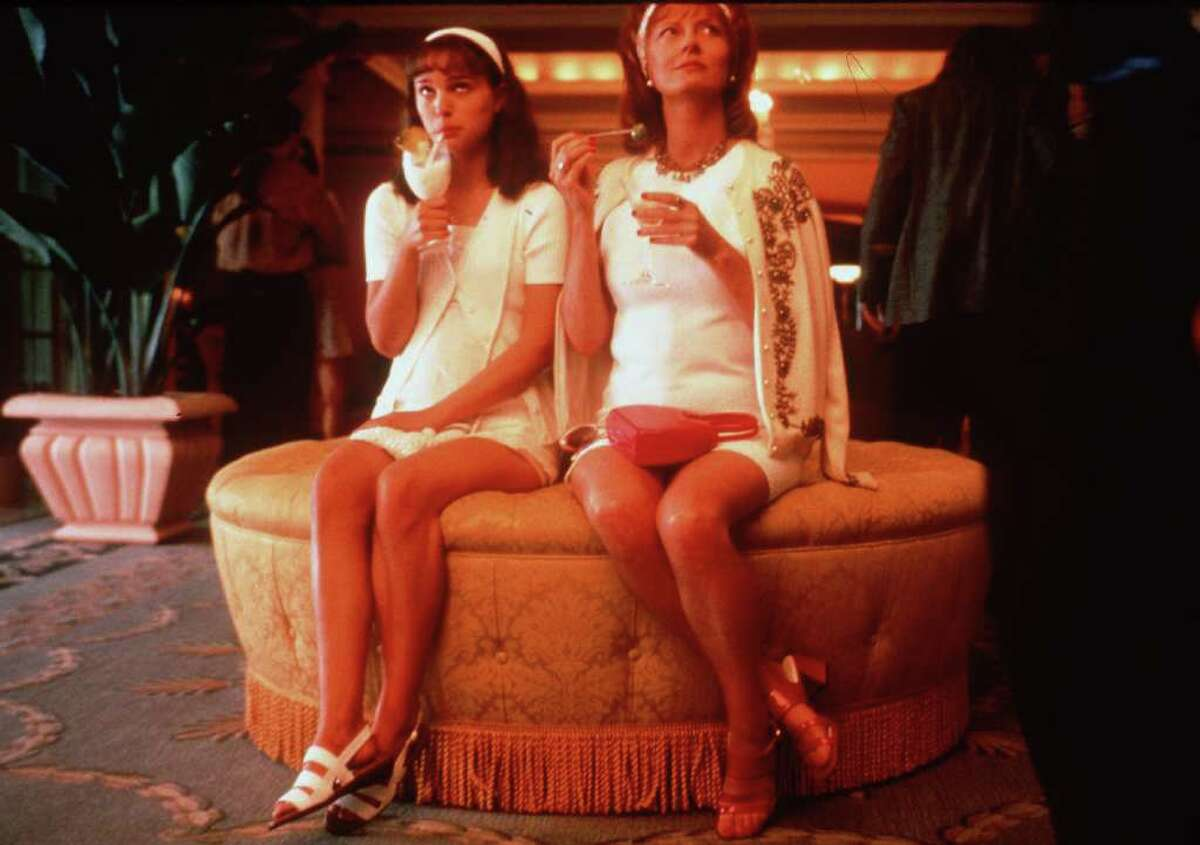 Portman and Susan Sarandon star in the movie 'Anywhere But Here' in 1999.