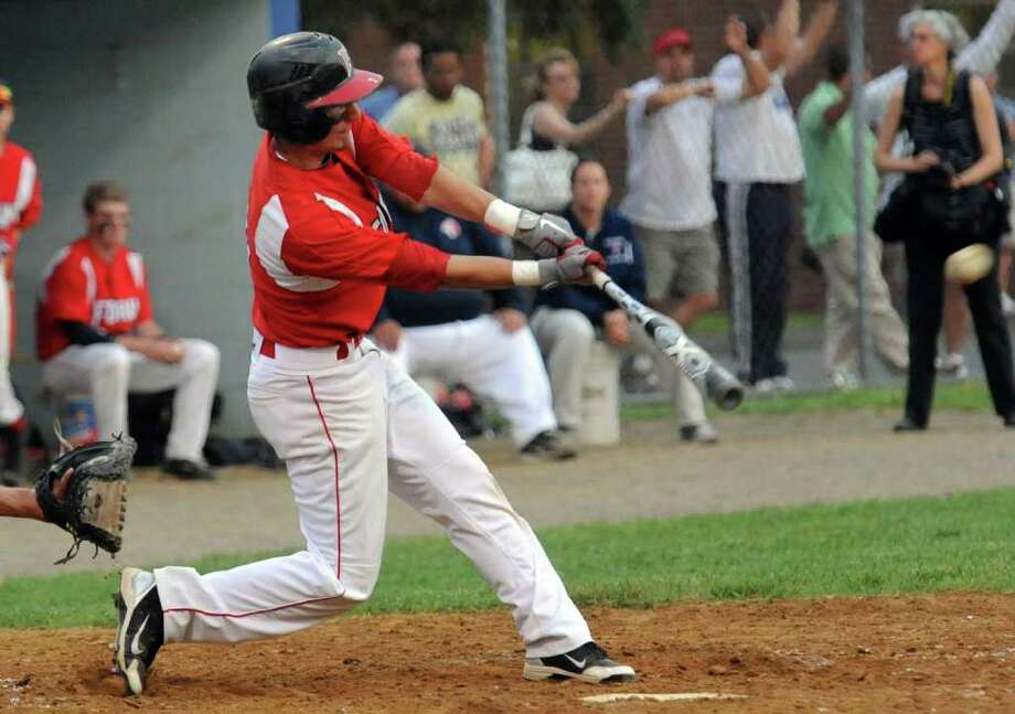 Highlights from Class L Semifinal of boys baseball action between Foran and Notre Dame of West Haven at Nolan Field in Ansonia, Conn. on Tuesday June 7, 2011. Photo: Christian Abraham / Connecticut Post