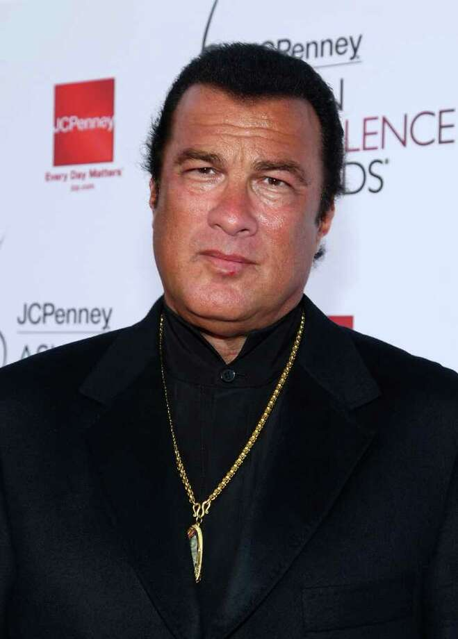 Steven Seagal Photo: Alberto E. Rodriguez, Getty Images / 2008 Getty Images