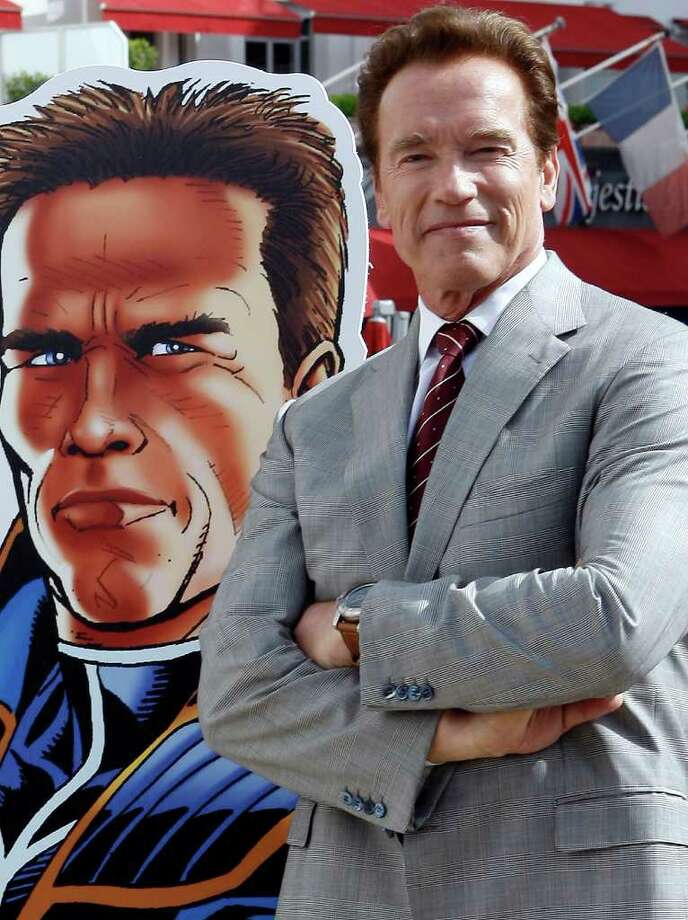 Arnold Schwarzenegger Photo: AFP/Getty Images