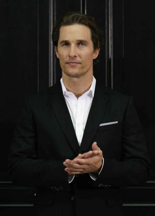 Matthew McConaughey Photo: Andreas Rentz, Getty Images / 2011 Getty Images
