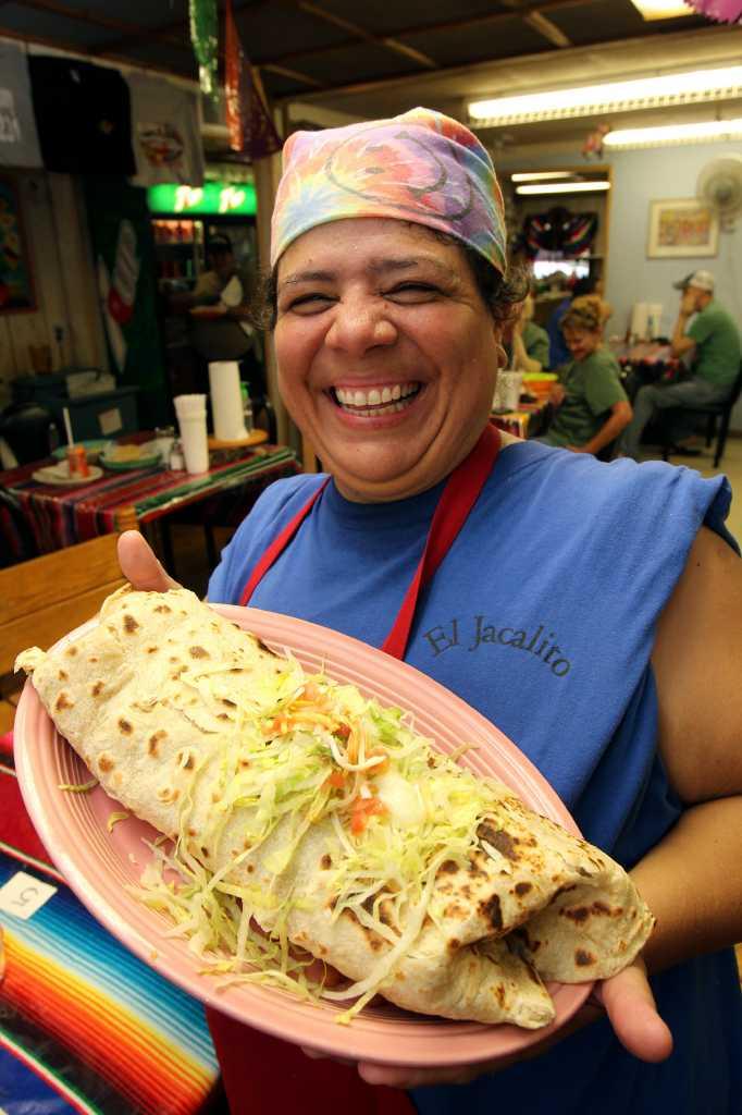 Few Subdue Mammoth Burrito In One Sitting San Antonio