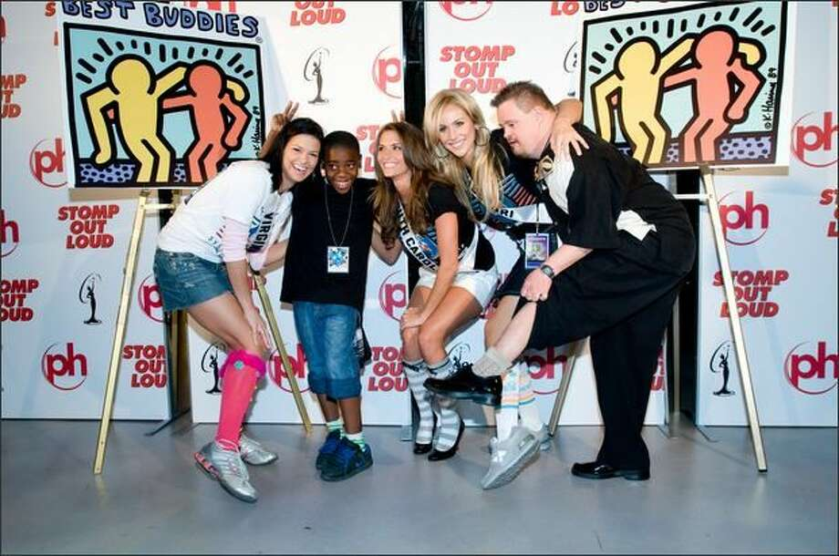 Tori Hall, Miss Virginia USA 2008, Jamie Hill, Miss South Carolina USA 2008, Candice Crawford, Miss Missouri USA 2008, and 