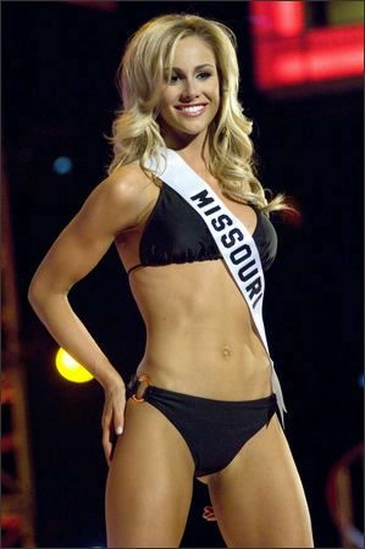 Candice Crawford, Miss Missouri USA 2008. Photo: Miss Universe L.P., LLLP