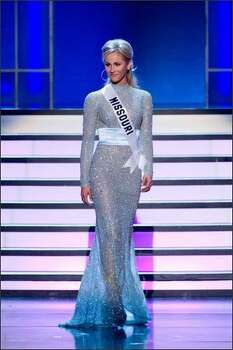 Candice Crawford, Miss Missouri USA 2008. Photo: Miss Universe L.P., LLLP Photo: Miss Universe L.P., LLLP