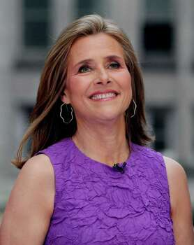 "In this May 27, 2011 photo, Meredith Vieira, outgoing co-host of the NBC ""Today"" television program, appears on the show, in New York's Rockefeller Center.    Vieira has spent her last morning hosting TV's most-watched morning show. The popular ""Today"" co-anchor ended her five-year run on Wednesday, June 8, 2011, telling viewers her decision to go is ""right, but it's hard."" Photo: AP"