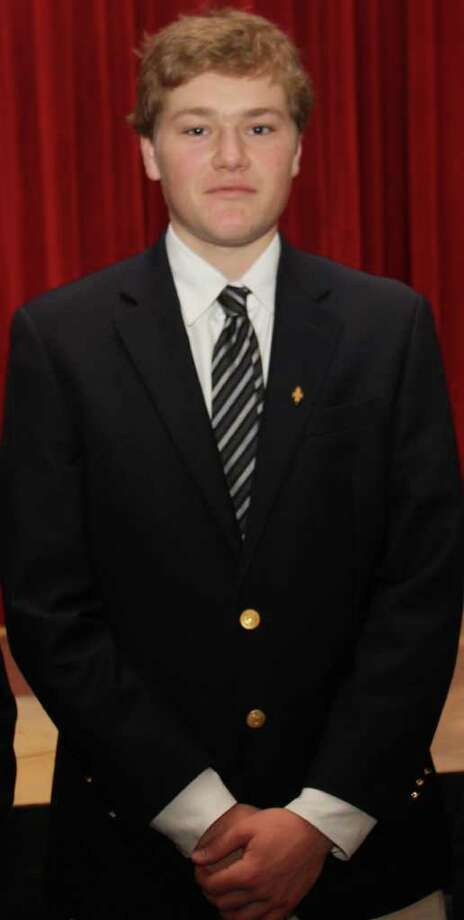 King senior Max Orenstein of Darien was named FAA Scholar Athletes for the 2010-2011 school year at the annual Fairchester Athletic Association league dinner May 25 Photo: Contributed Photo / Darien News