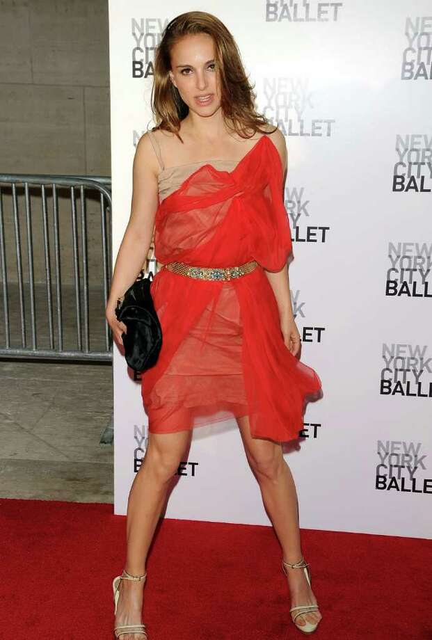 Portman attends the 2010 New York City Ballet Spring Gala at the David H. Koch Theater, Lincoln Center on April 29, 2010 in New York. Photo: Andrew H. Walker, Getty Images / 2010 Getty Images