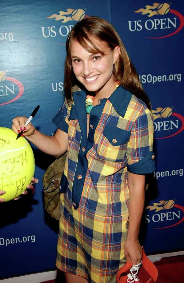 Portman arrives for the Buzz Party before the women's singles final on day 14 of the 2008 U.S. Open at the Billie Jean King National Tennis Center on September 7, 2008 in New York. Photo: Gary Gershoff, Getty Images / 2008 Getty Images