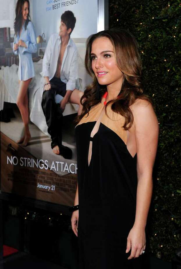 Portman arrives at the 'No Strings Attached' premiere at Regency Village Theater on January 11, 2011 in Westwood, California. Photo: Alberto E. Rodriguez, Getty Images / 2011 Getty Images